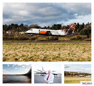 Commercial Photographer Dundee Airport Loganair Website