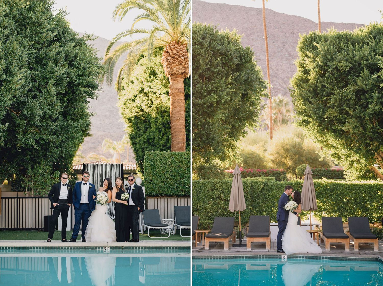 Wedding Party Fun | Avalon Hotel Palm Springs