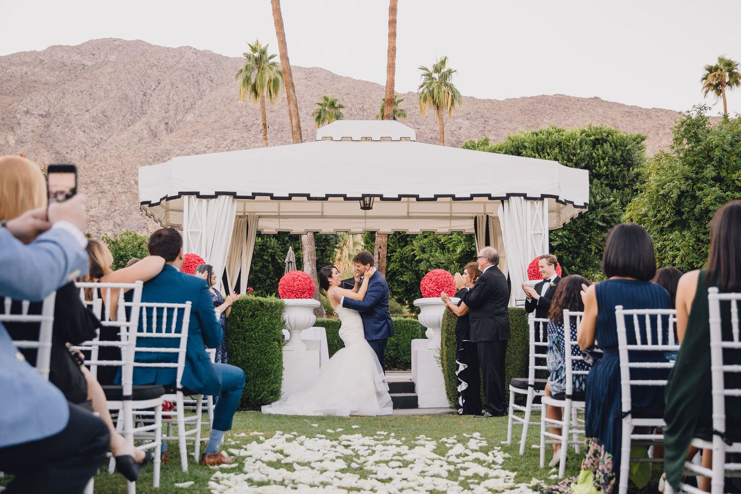 Just Married | Avalon Hotel Palm Springs