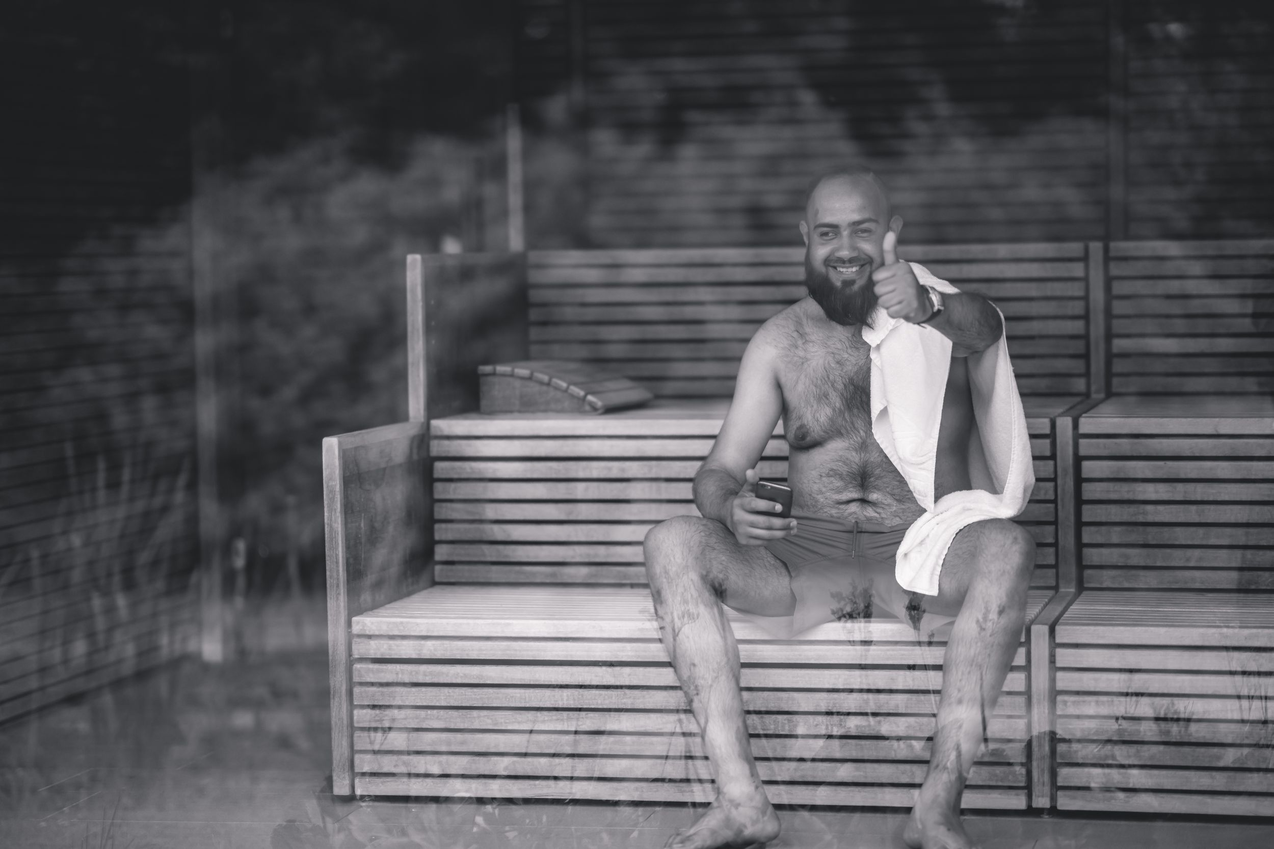 JPRShah Photography | Random Sauna Guy | Stanley House