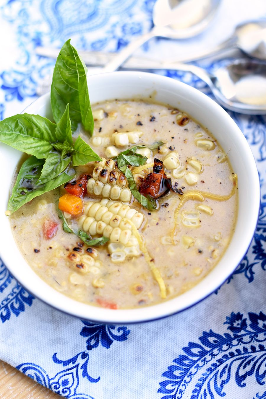 Corn Chowder Food Photography by Charity Beth Long