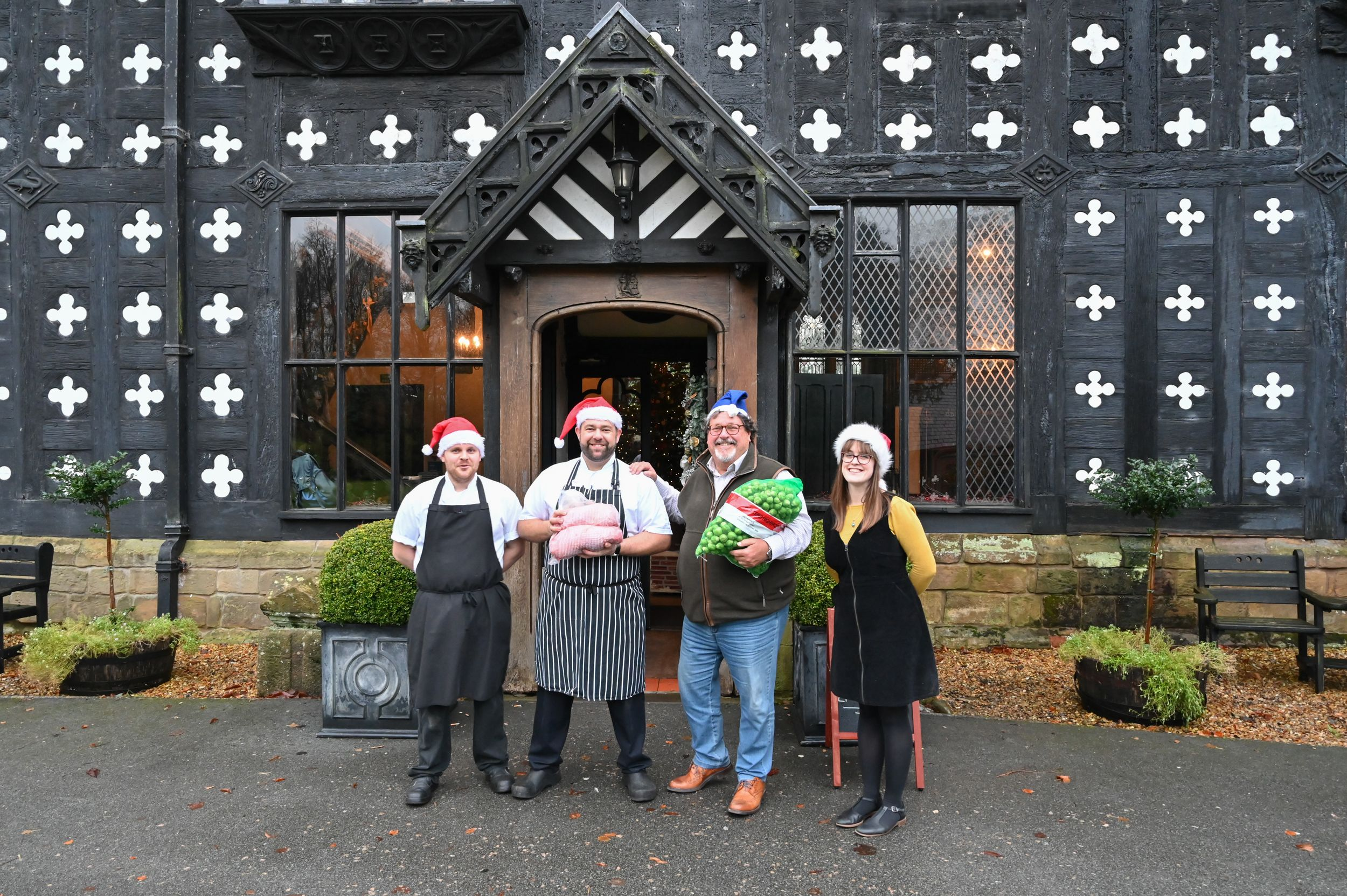 Christmas feast for homeless thanks to Samlesbury Hall