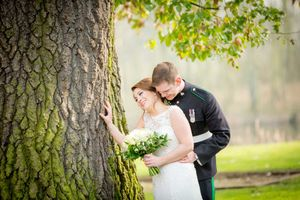 Colwick hall wedding couple by john price photography