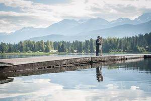 Whistler Engagement Photography Summer Alta Lake