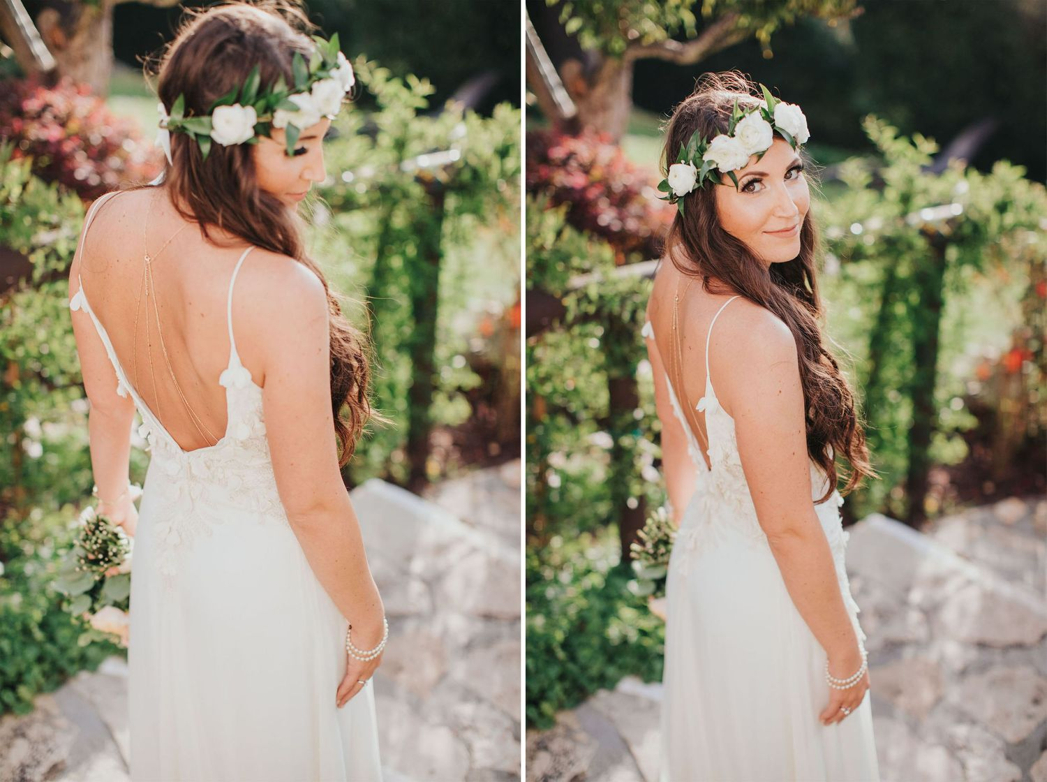 bridal portrait at la venta inn