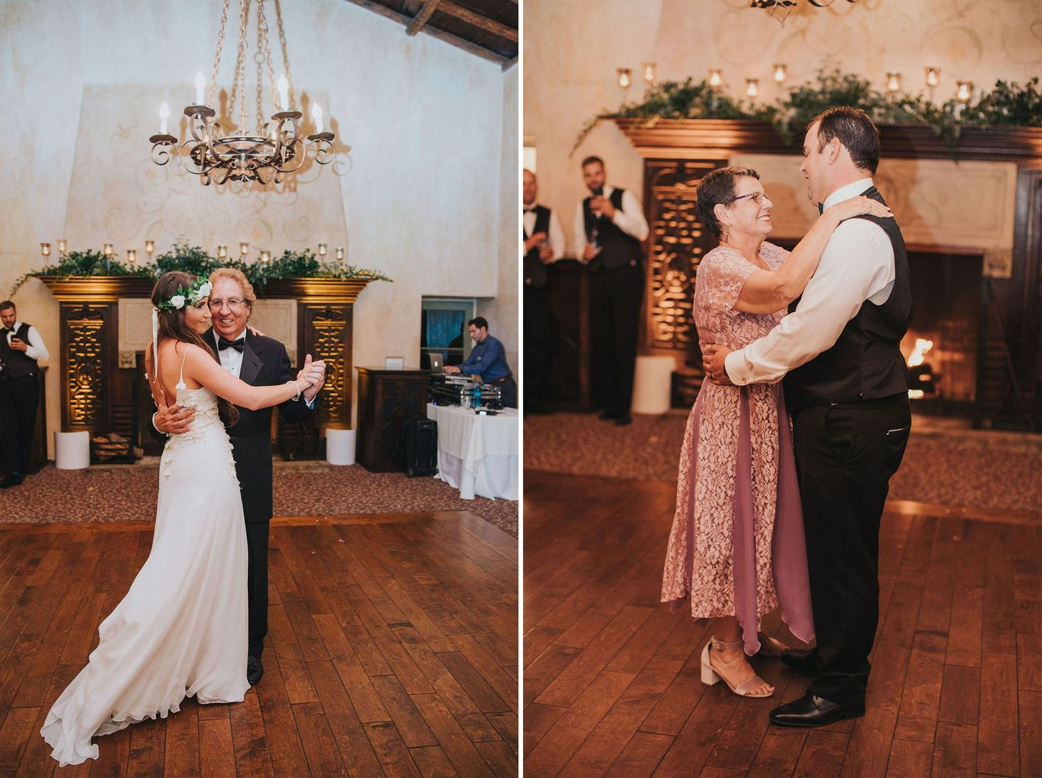 father daughter & mother son dances at la venta inn