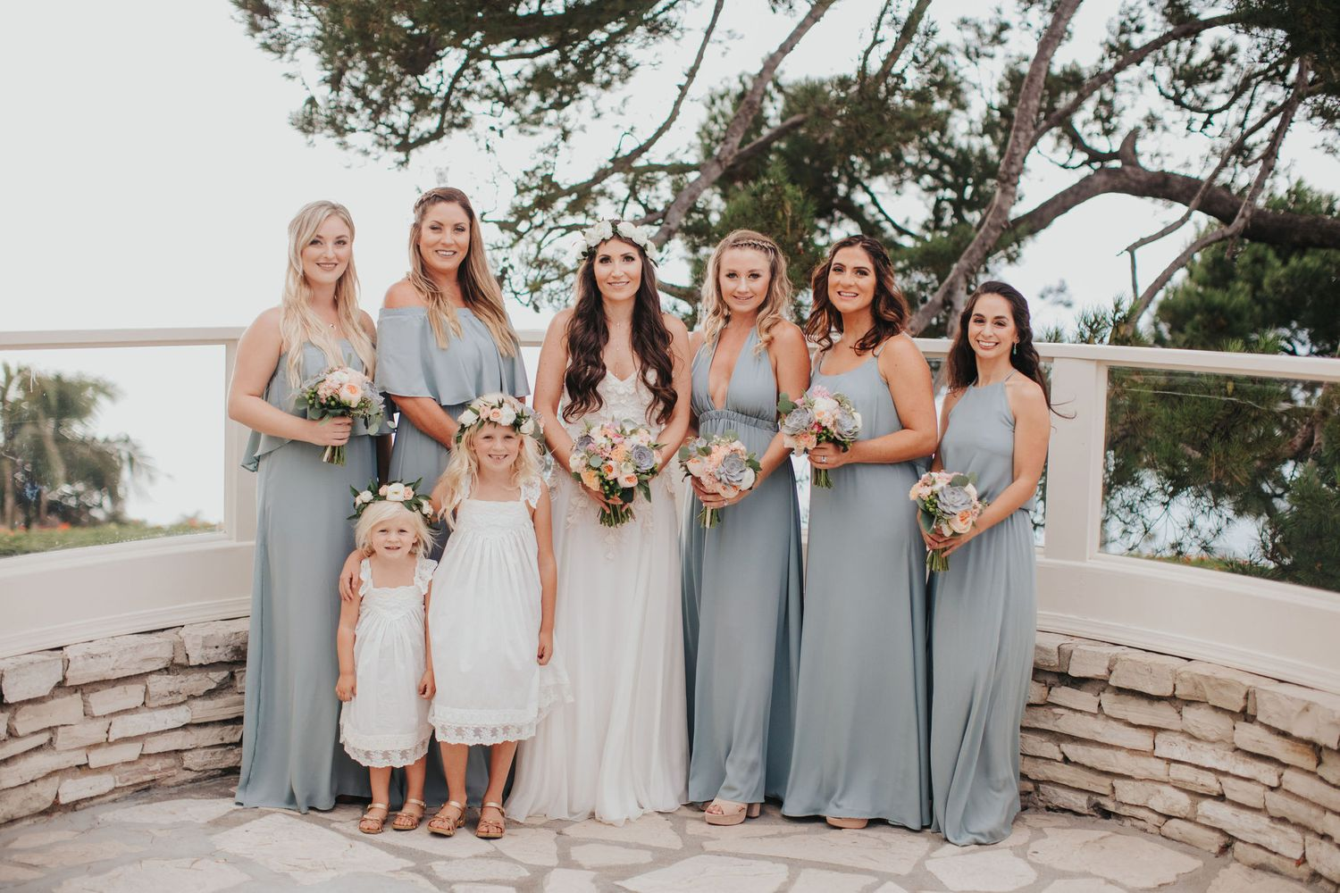 bridesmaids at la venta inn