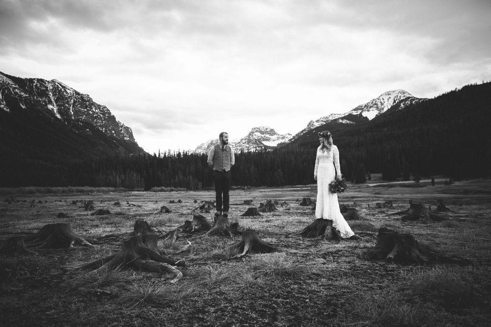Kacie Q Photography Bozeman, Montana Wedding