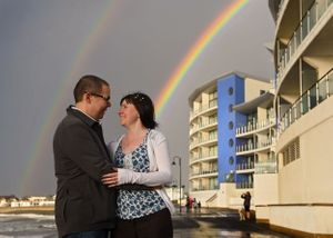 Double Rainbow Engagement Shoot Westward Ho!