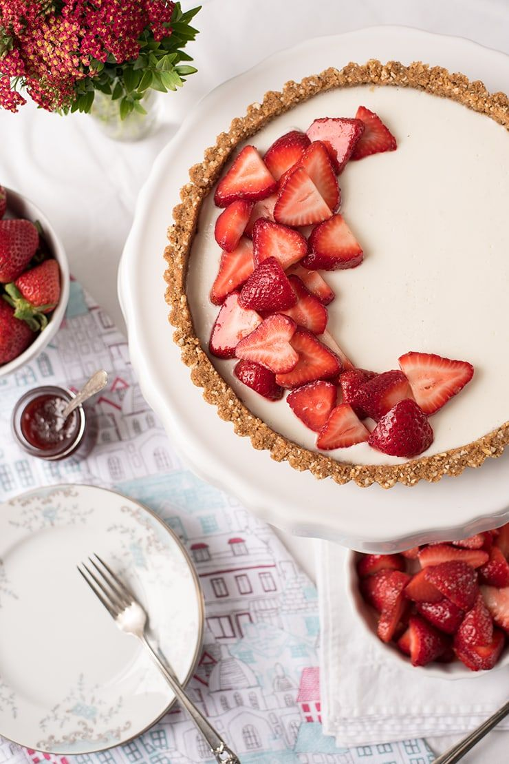 Strawberry Tart Food Photography by Charity Beth Long