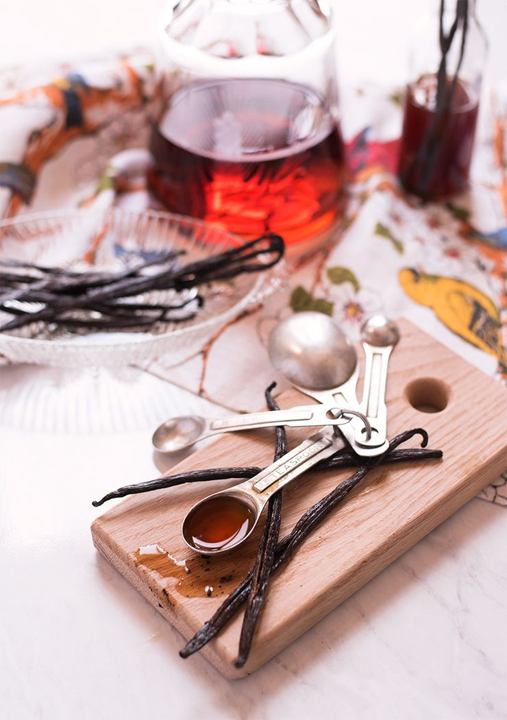 Vanilla Extract Food Photography by Charity Beth Long