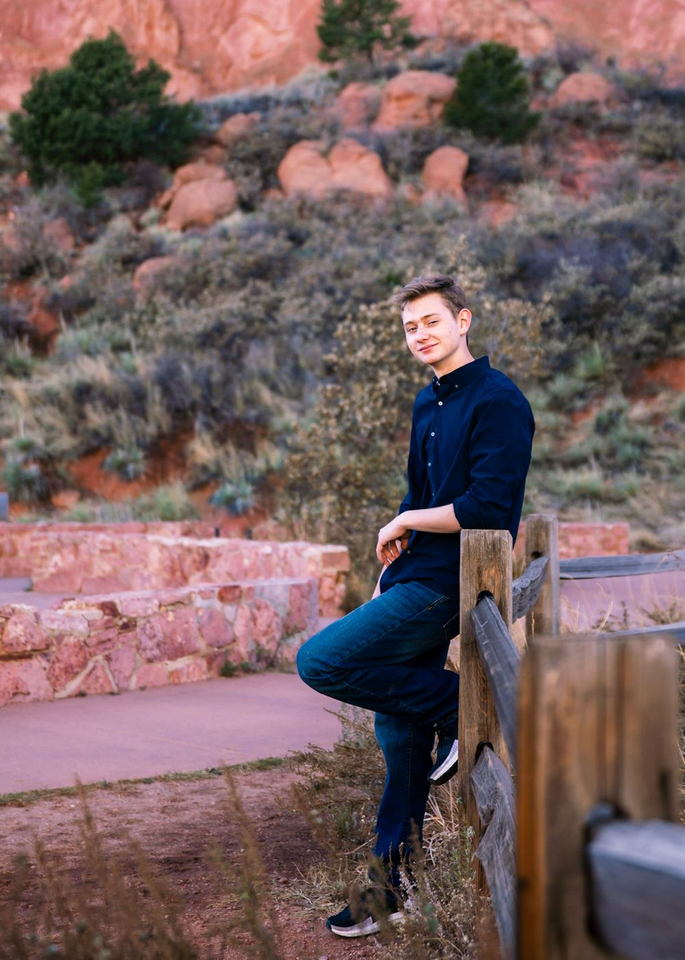 Garden of the Gods Senior Session