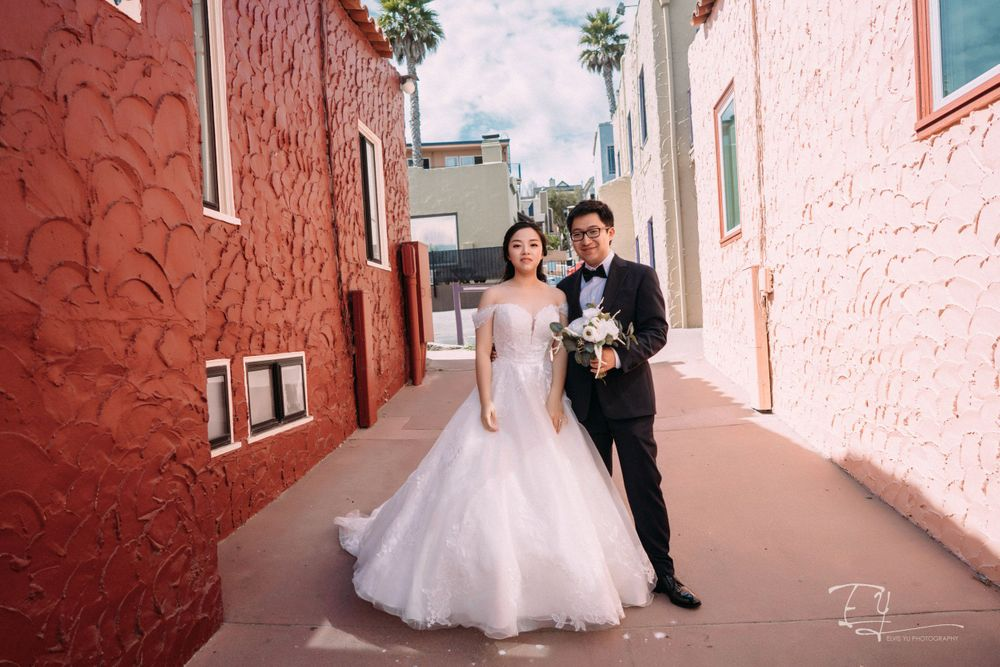 elvis yu photography california engagement wedding day destination wedding san Francisco carmel by the sea
