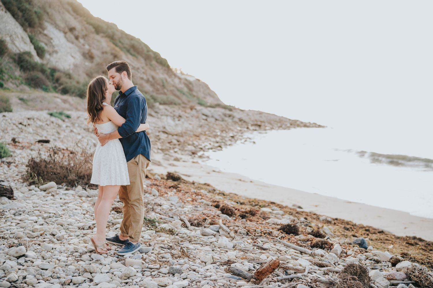 palos verdes engagement photo