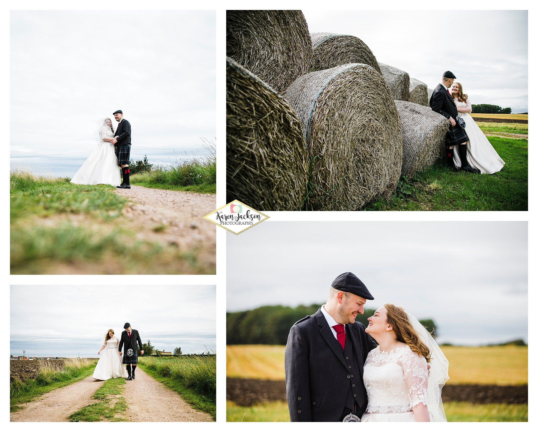 Cow Shed Crail wedding Photographer Fife