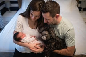 Whistler Newborn Photographer Baby Photography Family Pet Dog