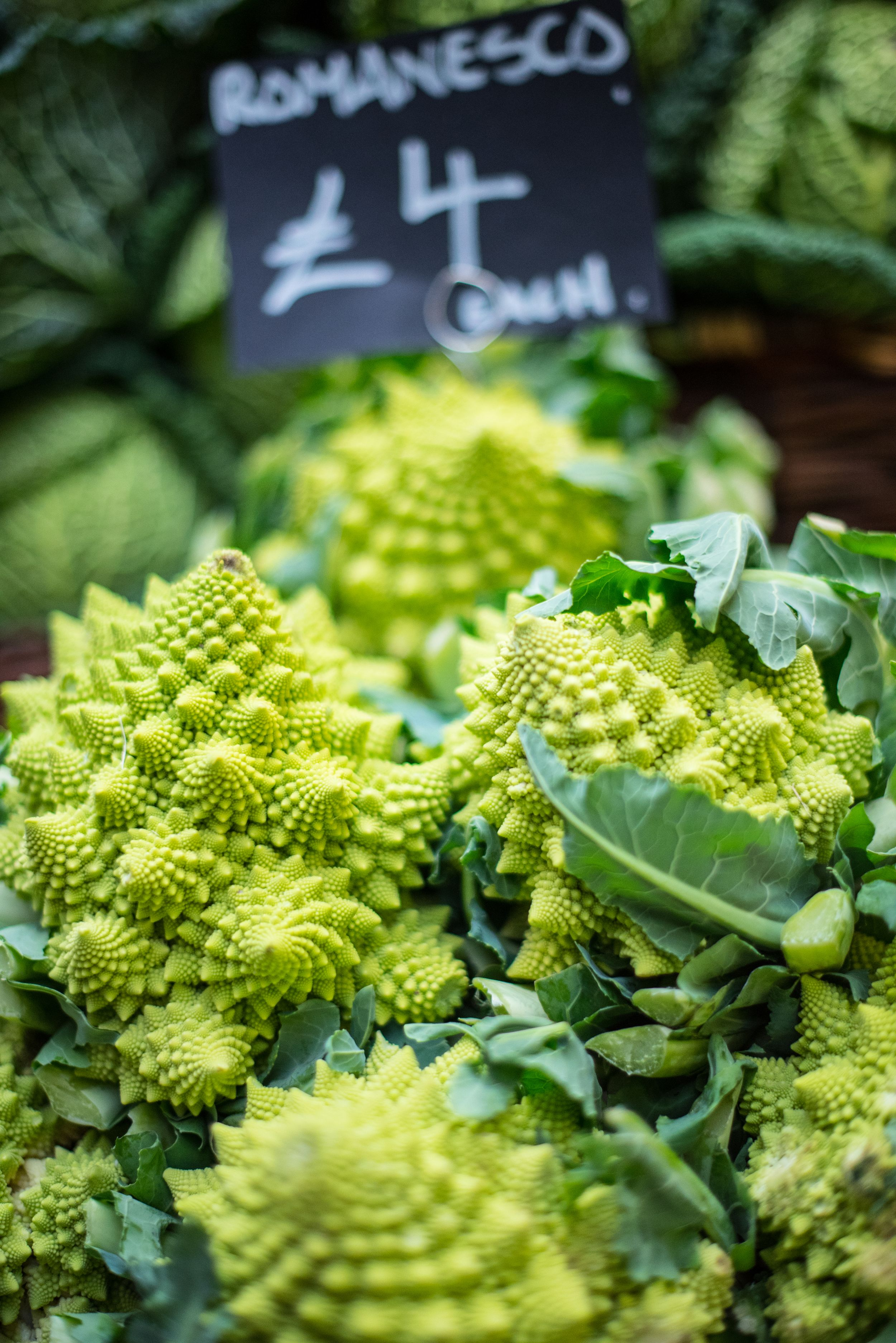 Romanesco at  Borough Market