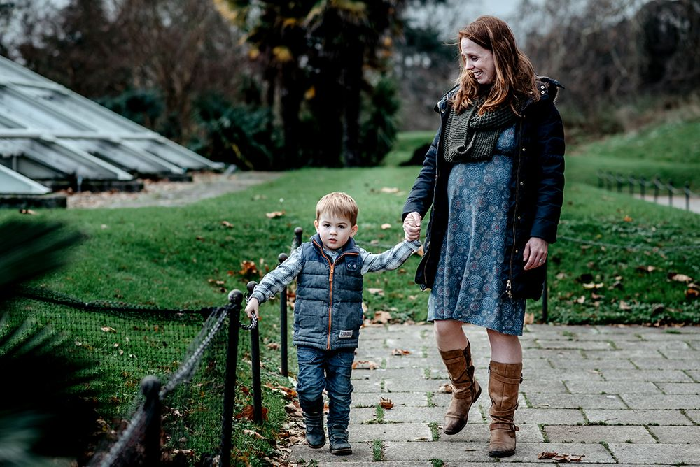 winter family photography London