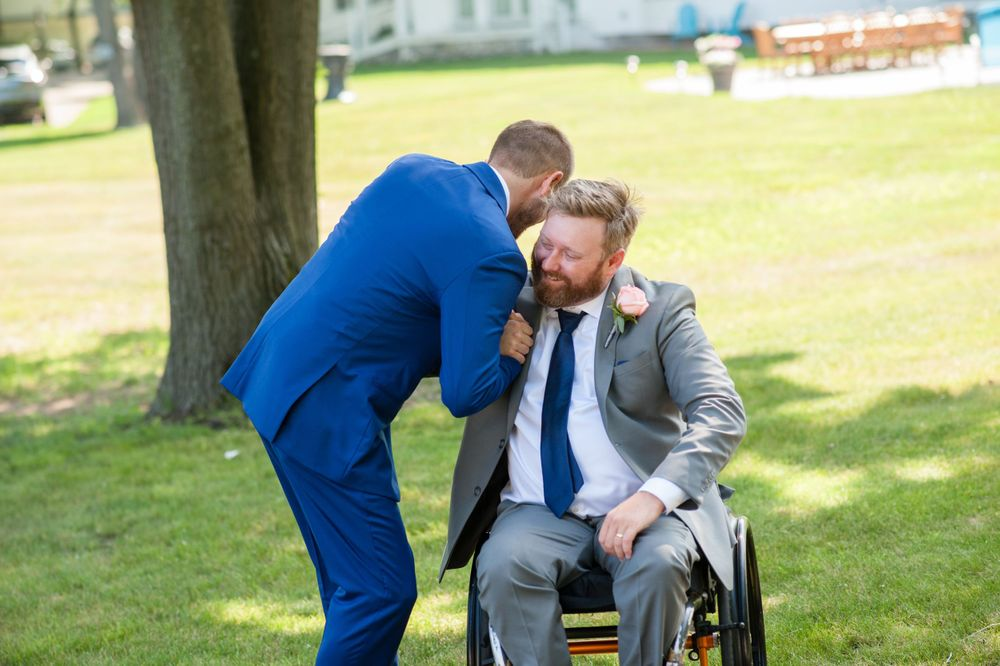 Visual Narrative Photography Michigan wedding photography portrait groomsman