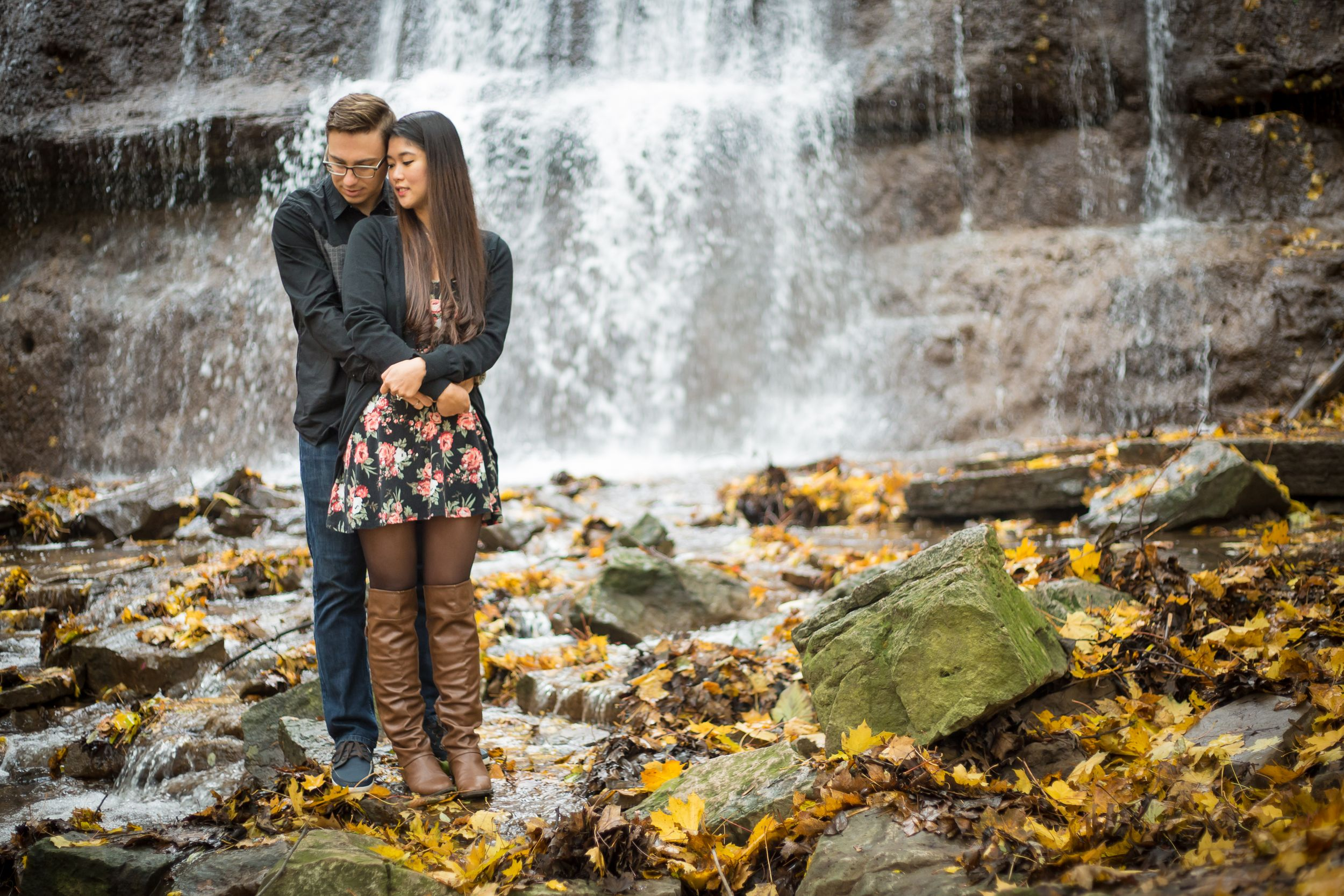 Sherman Falls Engagement