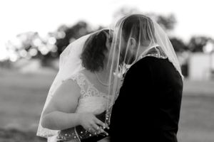 Elizabeth Couch Photography | Dallas Fort Worth Wedding Photographer | Oklahoma city bride sunset