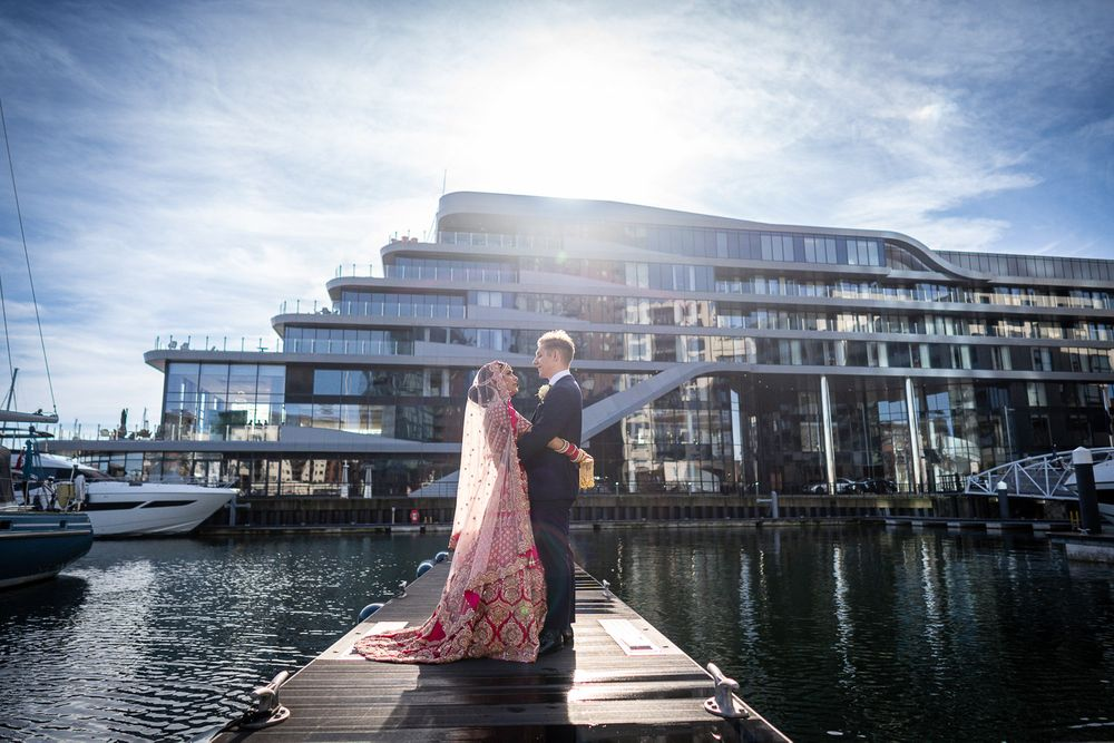 Southampton Harbour hotel wedding