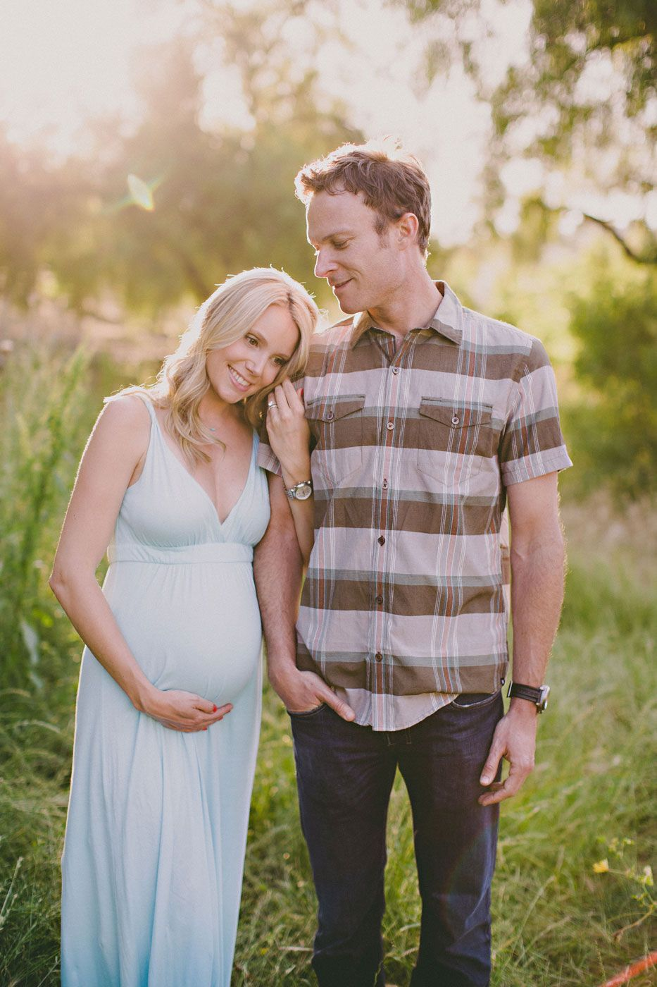 palos verdes trail maternity photo