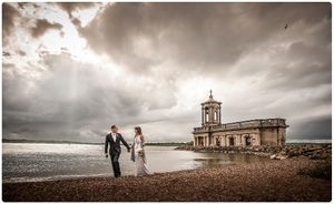wedding photographer normanton church