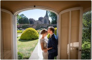 wedding photographer at holme pierrepont hall