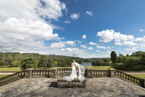 wedding photographer osmaston estate