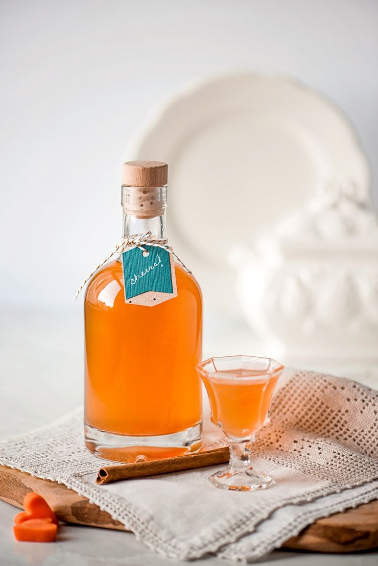 Carrot Liqueur Drink Photography by Charity Beth Long
