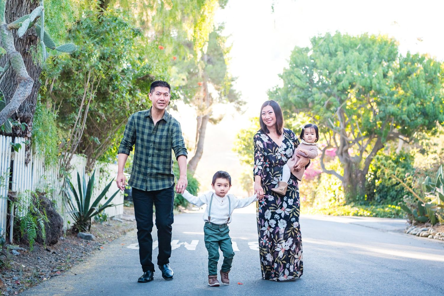 Family Photograph in San Juan Capistrano, CA