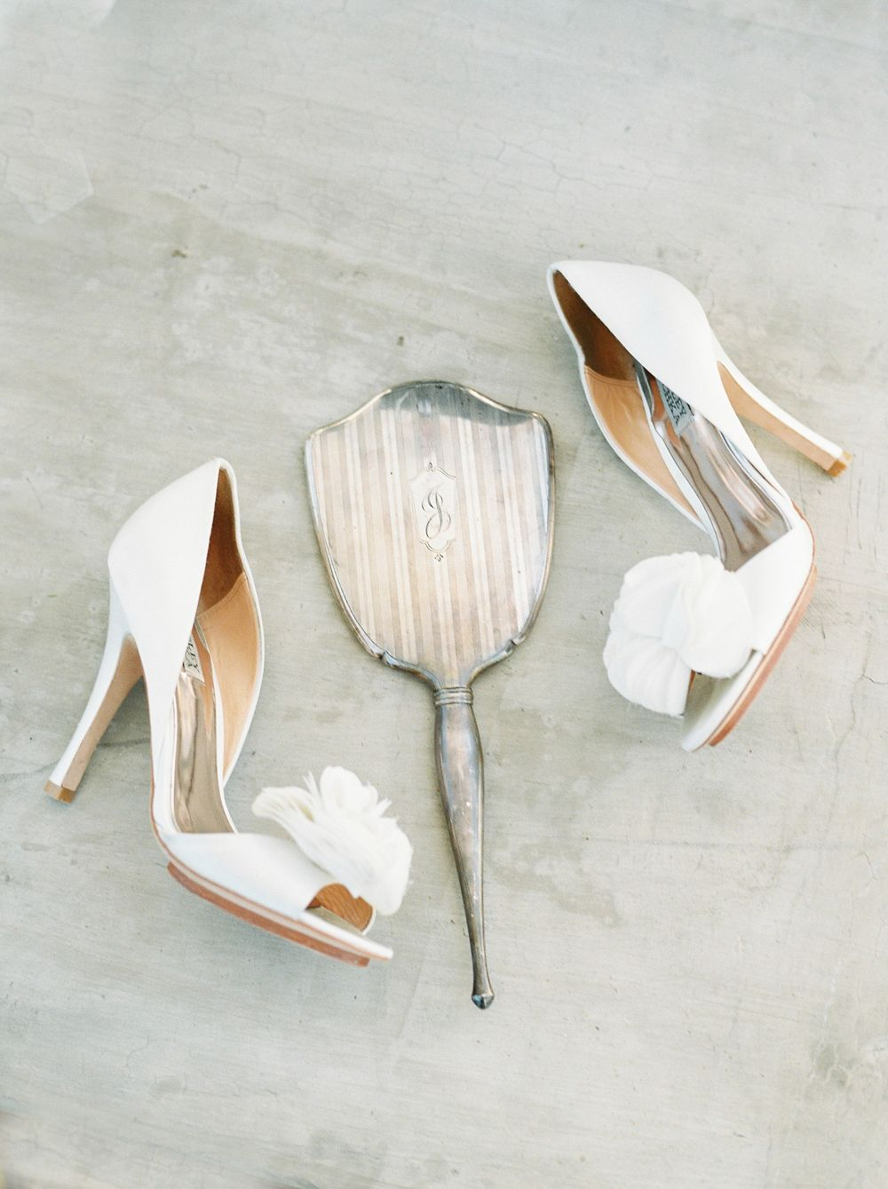 Wedding Shoes -Melissa Mae Photography - San Juan Mission, Capistrano, California