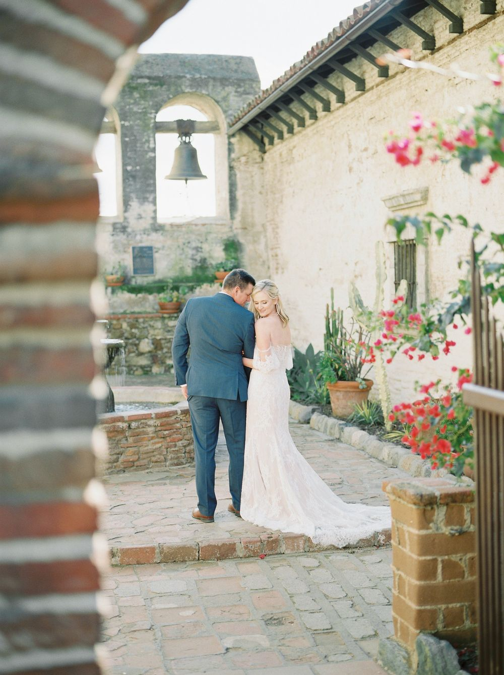Wedding Portrait -Melissa Mae Photography - San Juan Mission, Capistrano, California